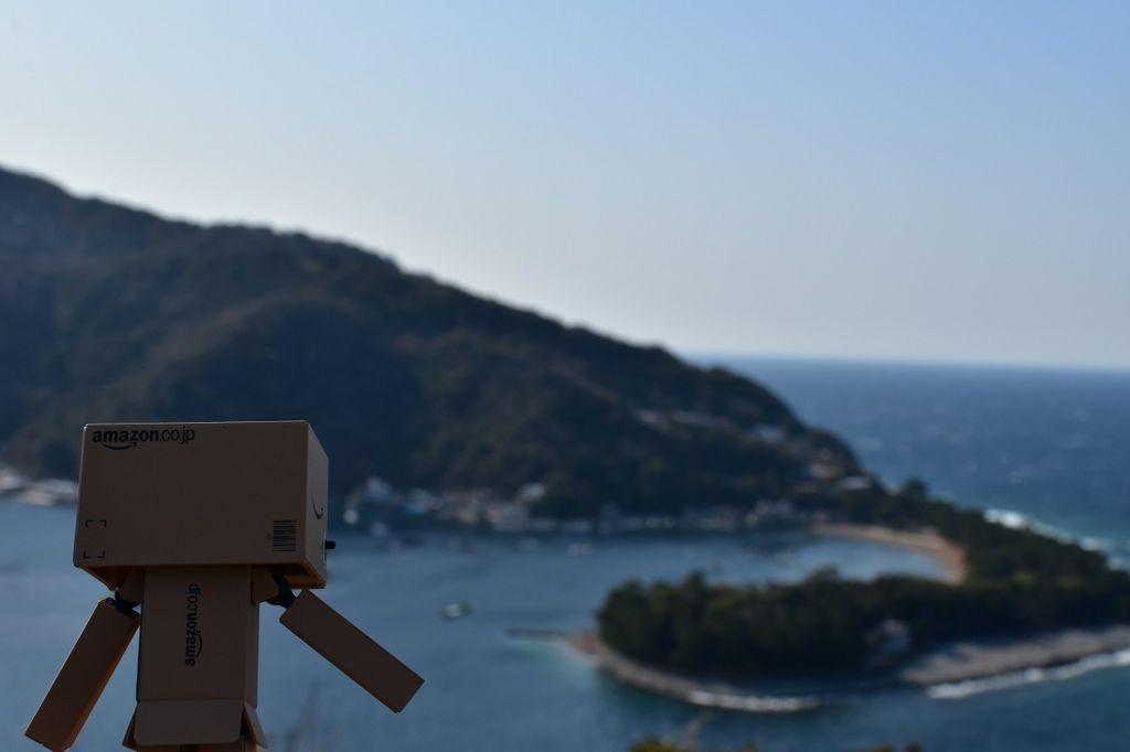 戸田湾を眺めるダンボー