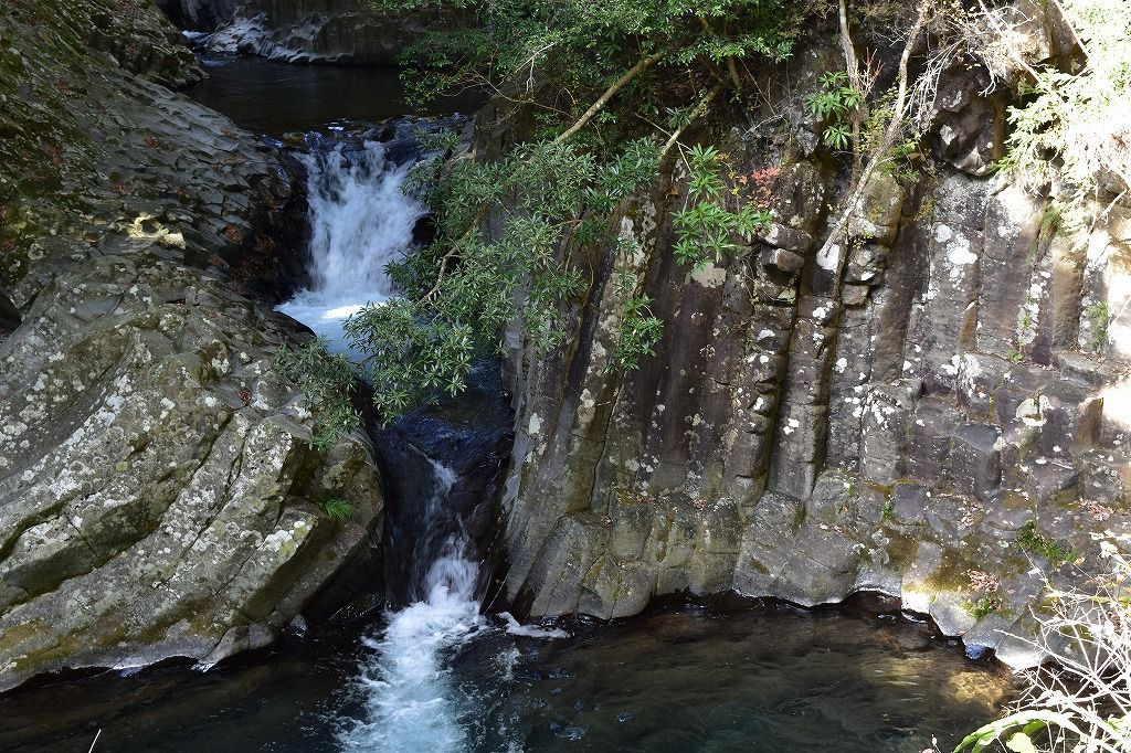 河津七滝の出会い滝