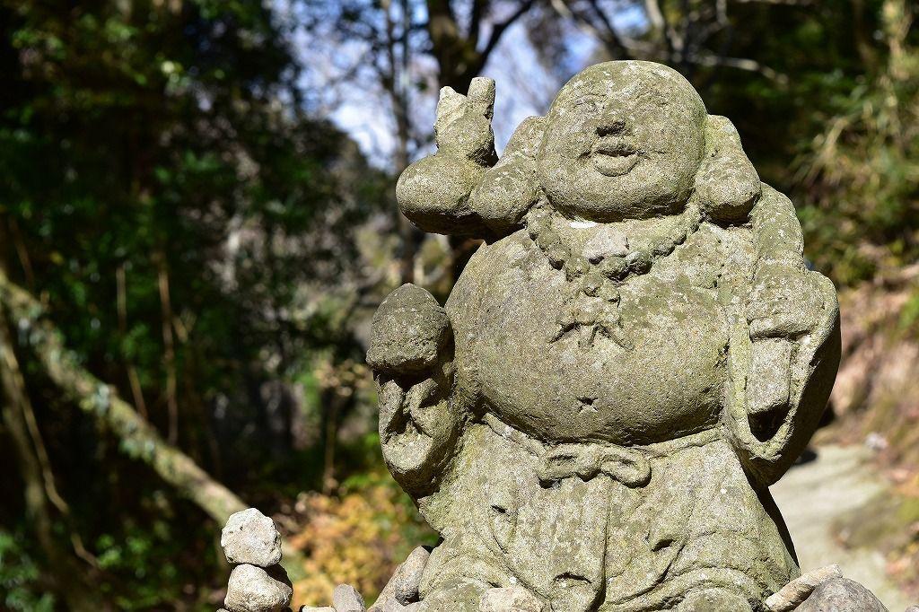 カニ滝脇の七福神