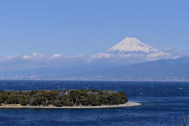 富士山ビュースポット西伊豆の西浦江梨