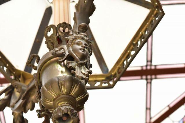 起雲閣の洋館の装飾