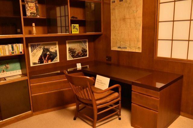 首相の書斎兼応接間