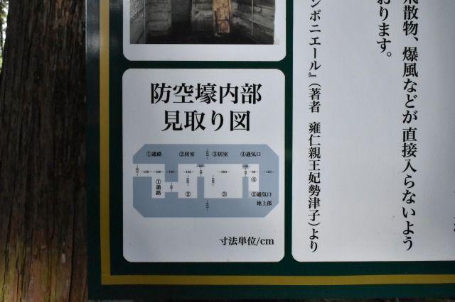 秩父宮記念公園の皇族の防空壕