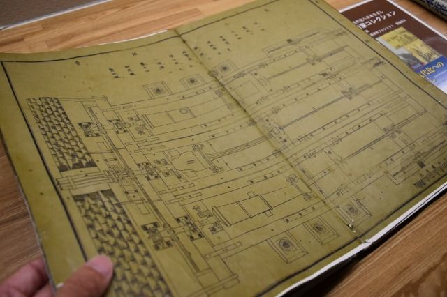 反射炉の図面