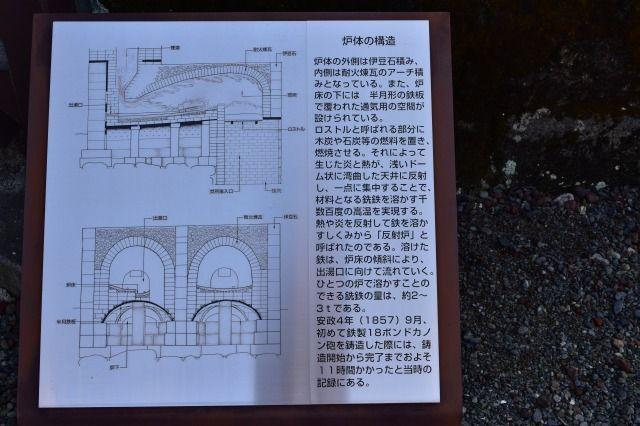 韮山反射炉の構造