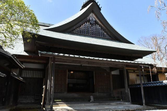 江川邸の玄関