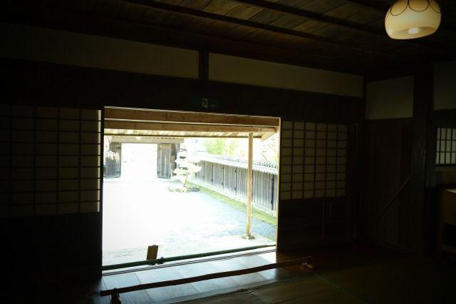 江川邸の土間