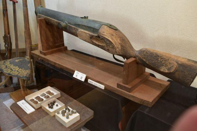 江川邸の米蔵の展示品