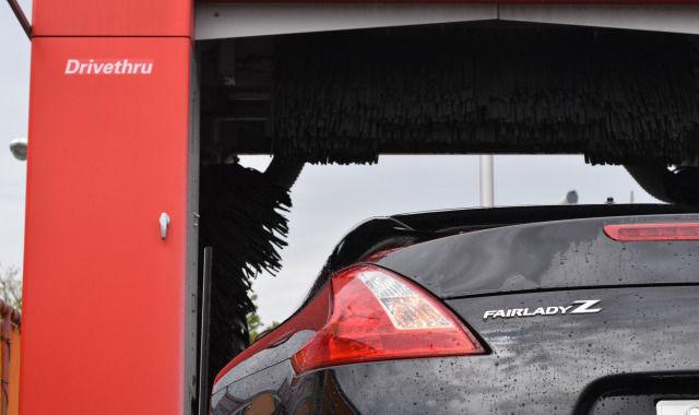 洗車中のフェアレディZ