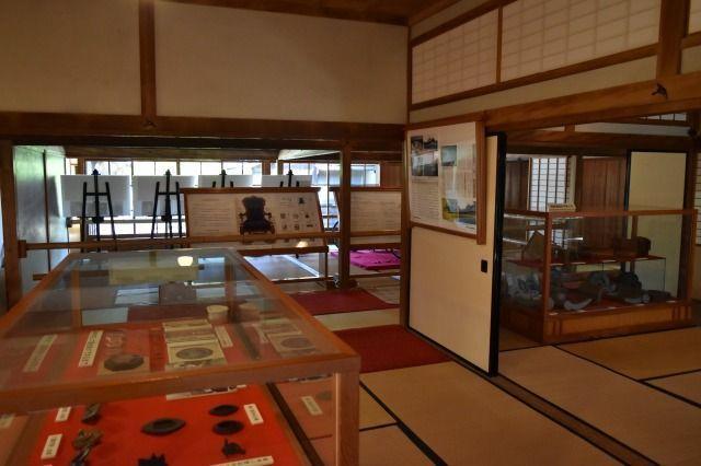 沼津御用邸記念公園の展示品