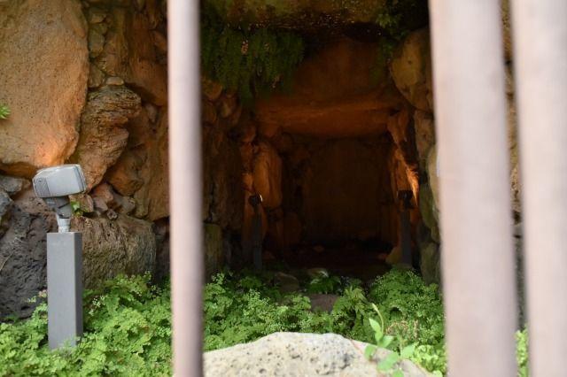 原文古墳の横穴式石室