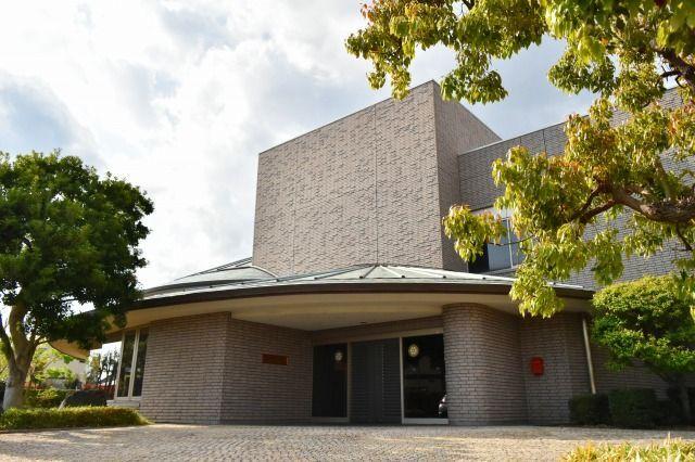 米山梅吉記念館の外観