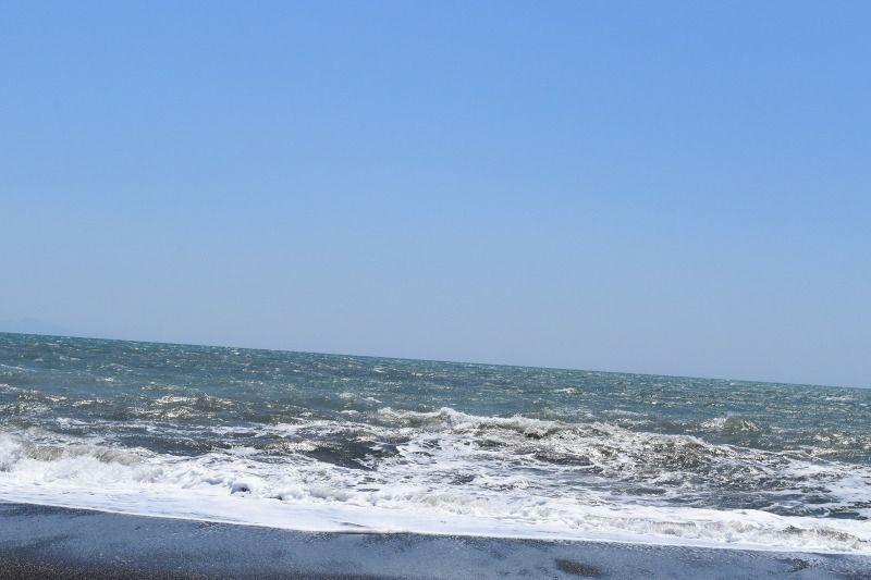 一眼レフカメラのD5500で撮影した海と空