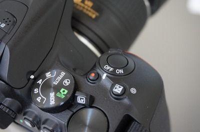 ニコン一眼レフカメラのD5500