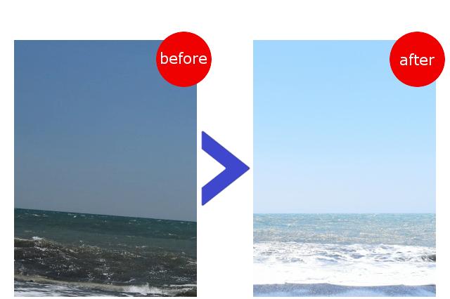 一眼レフカメラで空や海を綺麗に撮影するコツ