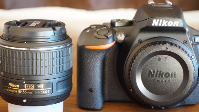 D5500一眼レフカメラ