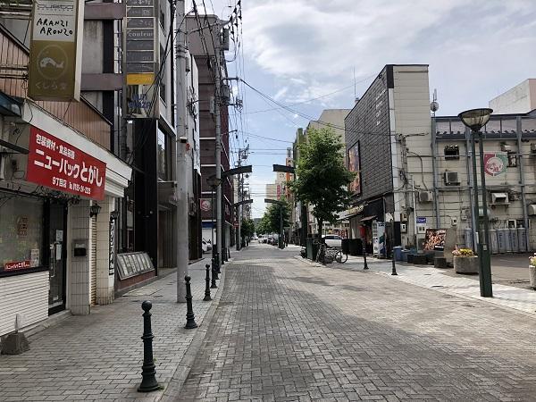 平成30年北海道地震人がいなくなった街中@帯広