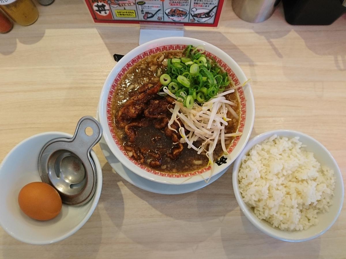 肉汁麺ススムの肉汁麺レベル1