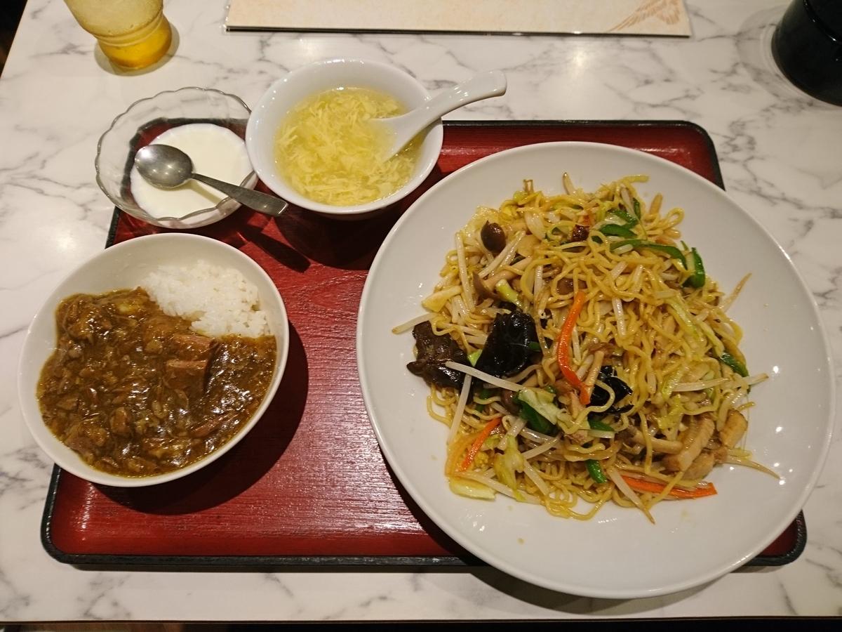 雁川の週替わり麺
