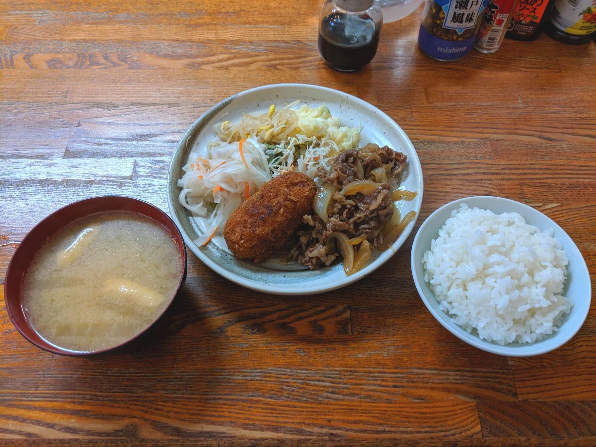 「酒亭 田幸」の日替わりランチ
