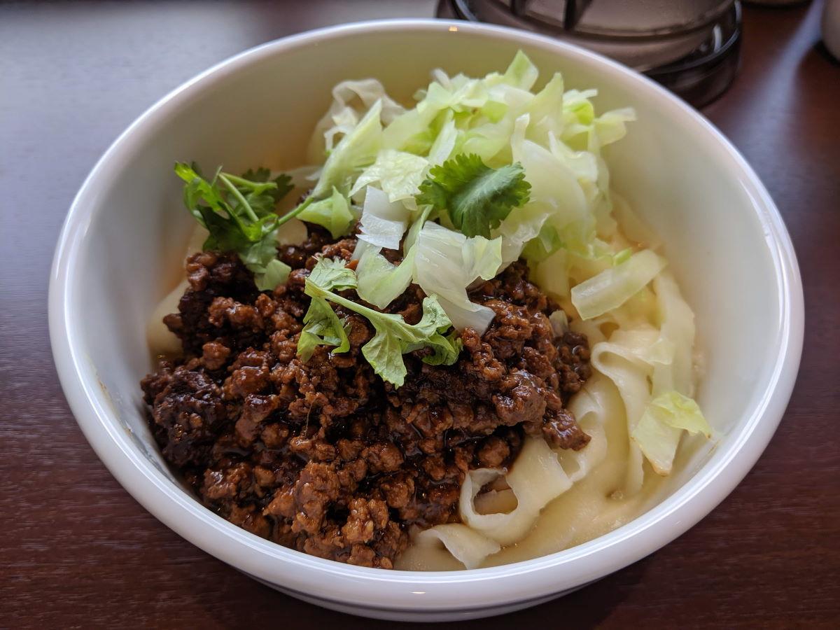 「シーアン」のジャージャー麺