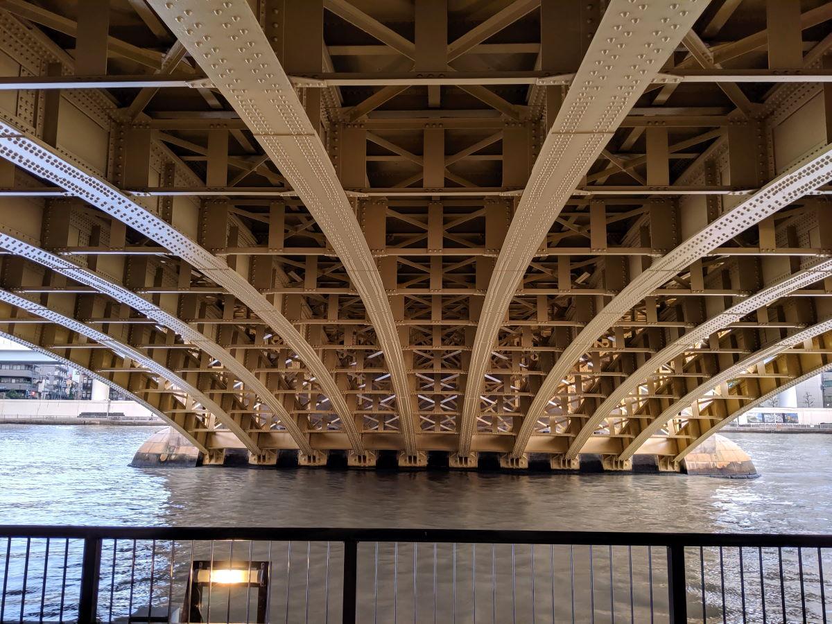 蔵前橋(下)