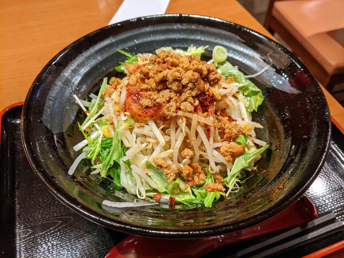 「中華料理 慶」のユーポービャンビャン麺
