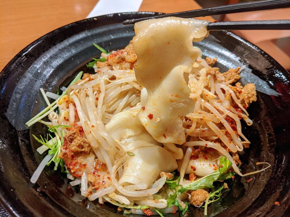 「中華料理 慶」のビャンビャン麺の麺