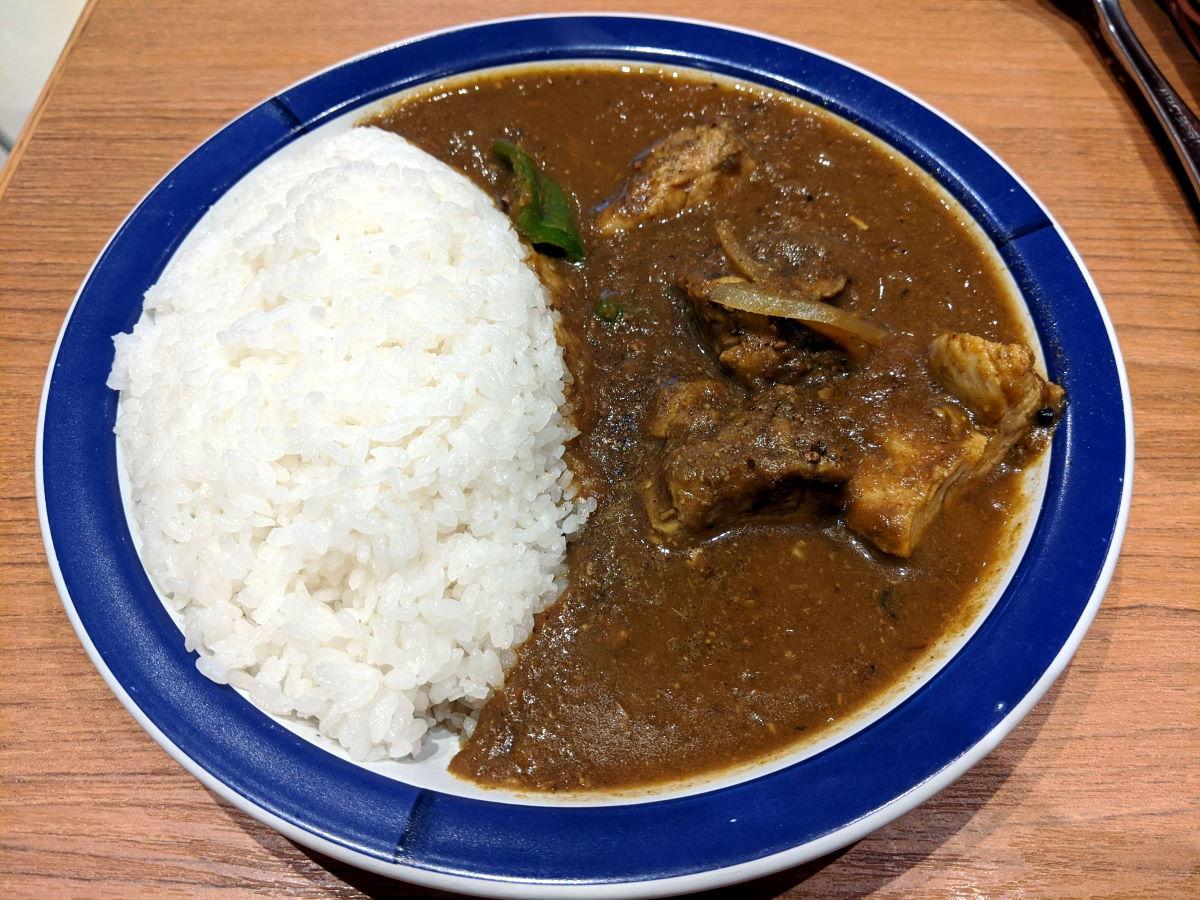 「エチオピアカリーキッチン」のチキンカリー