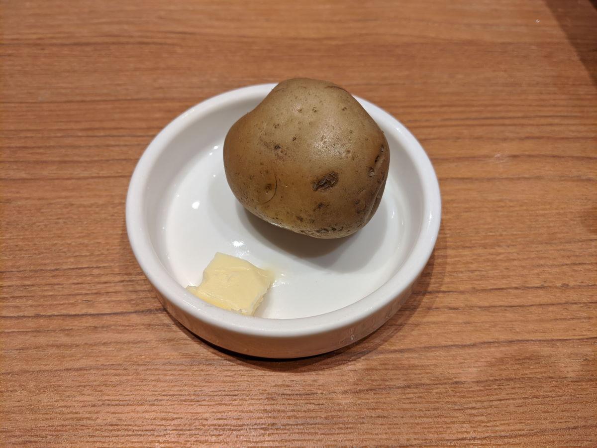 「エチオピアカリーキッチン」のジャガイモ