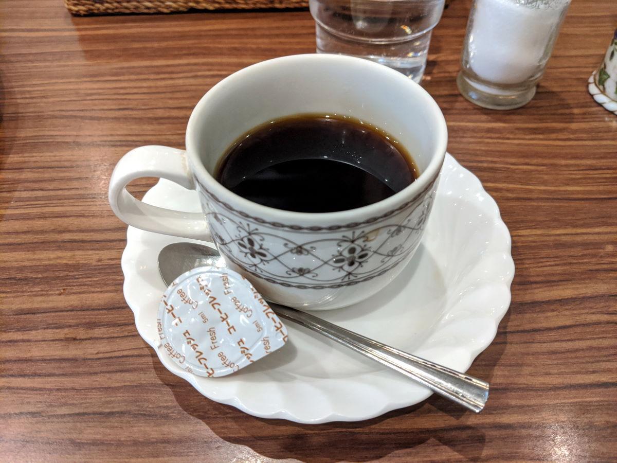 「エリエート」のコーヒー