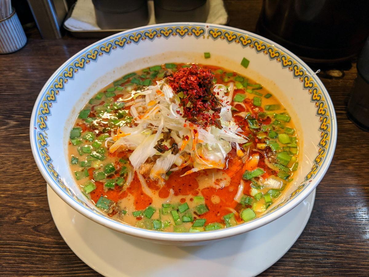 「雲林坊」の汁あり坦々麺