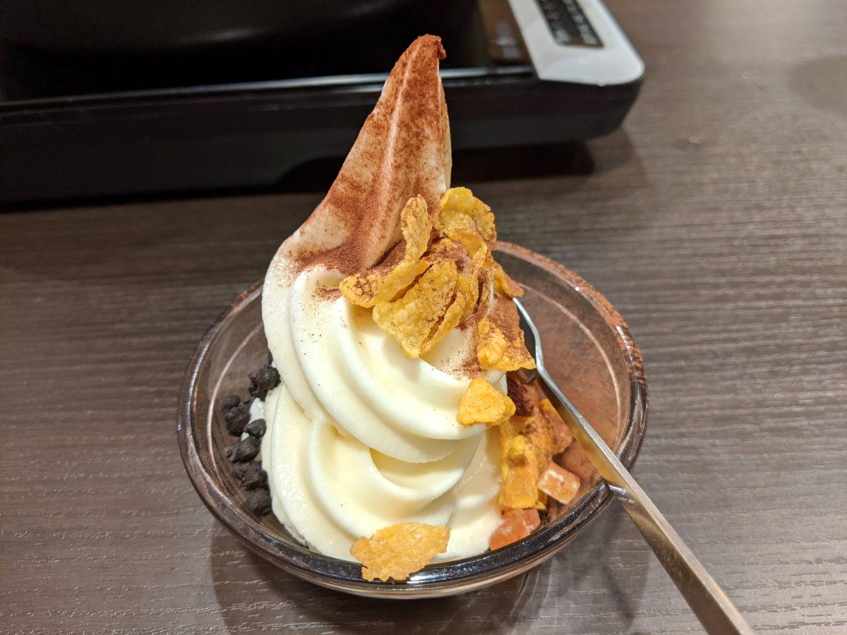 「しゃぶ葉」のデザート