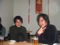 岡田さんは去年と変わりません。こーじんパーマかけてるしー。