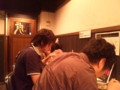 '10 8/7 OB会の練習&食事会後。虎太朗でシメのラーメン。