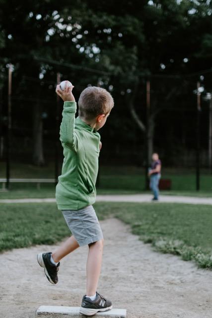 男の子 野球好き