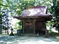 JR四ツ小屋駅ちかくの白山八幡神社