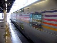 札幌駅に到着したカシオペア