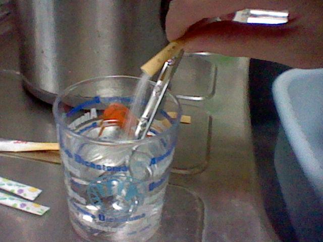 砂糖水制作1