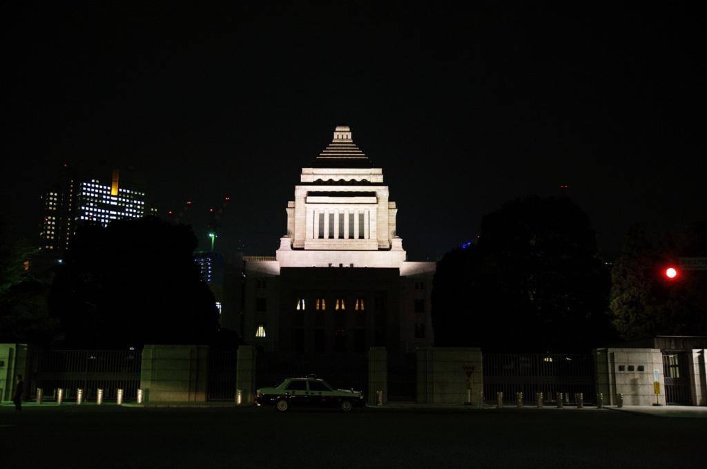 田中角栄が活躍した国会