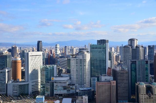 大都市「大阪」の景観