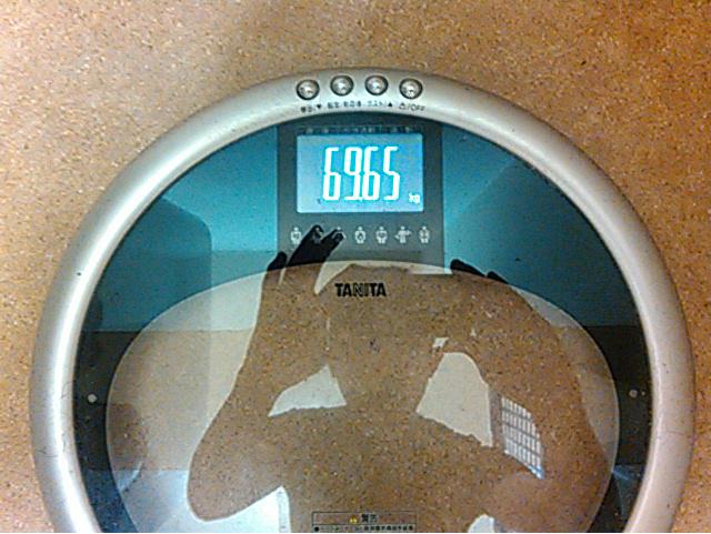 TANITAの体重計