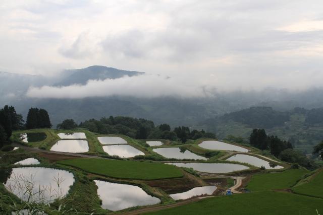 山古志村の風景