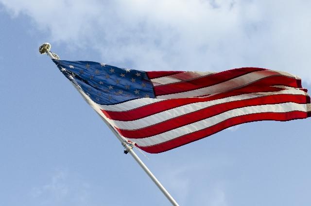 アメリカ合衆国の星条旗