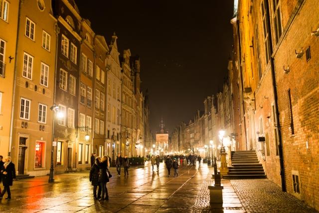 ヨーロッパの街の画像