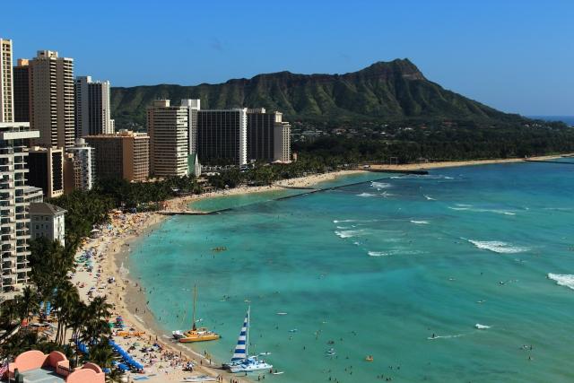 ハワイの美しい景観