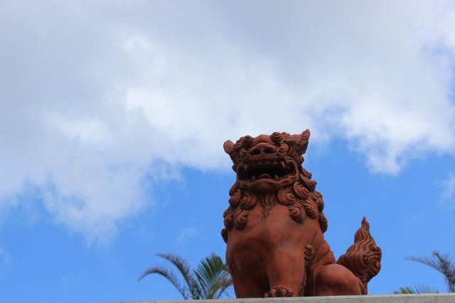 全落・水落のDVD-BOXに登場する沖縄にはシーサーが存在