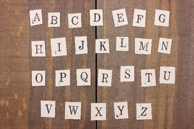 アルファベットを鍵に推理していく親子