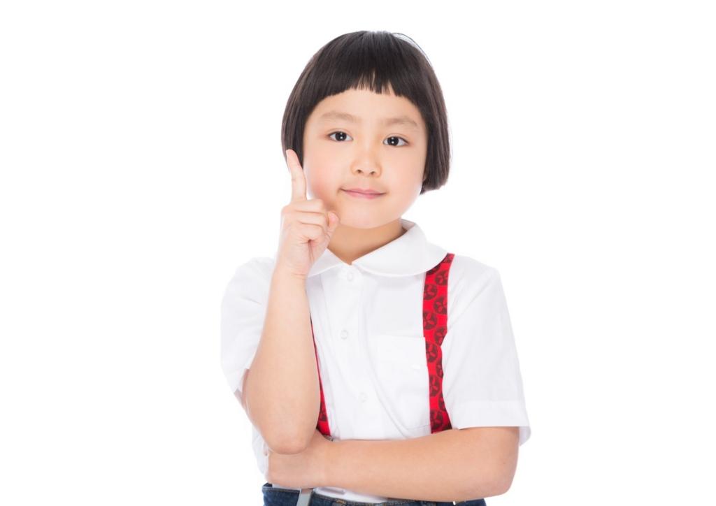 サグーワークスの注意事項について紹介する女の子