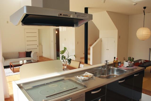 キッチンの設計を変更